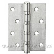 Петля дверная карточная MVM SS-100 SS нержавеющая сталь
