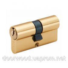 Цилиндр MVM Linde A5E 70 (35x35) ключ-ключ полированная латунь