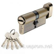 Цилиндр MVM P6P 65 (35x30T) ключ-тумблер античная бронза