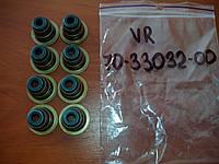 Сальники клапанов впускных (зеленые) 16 V форд эскорт 5