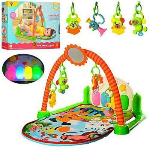 Килимок для немовляти з музичною панеллю та іграшками з 5 шт HY68109 ***