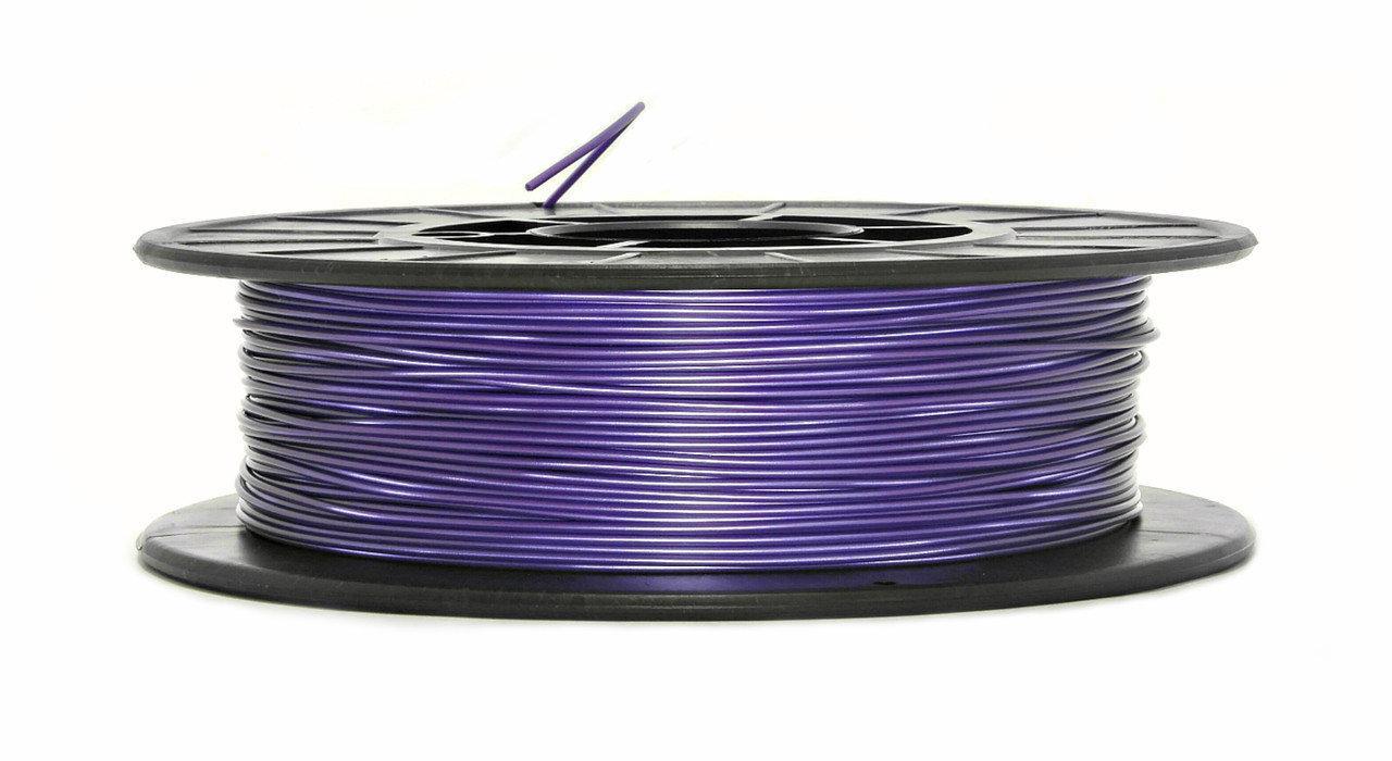 Нить PLA (ПЛА) пластик для 3D печати, Фиолетовый металлик (1.75 мм/0.5 кг)