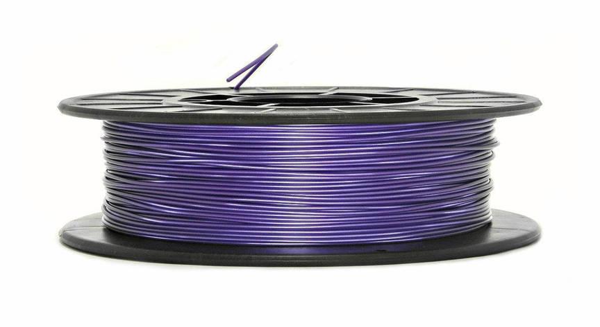 Нить PLA (ПЛА) пластик для 3D печати, Фиолетовый металлик (1.75 мм/0.5 кг), фото 2