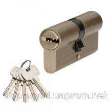 Цилиндр MVM P6P 70 (35x35) ключ-ключ матовая латунь