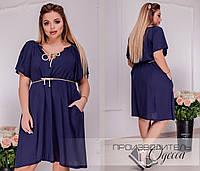 Женское платье Батал Штапель