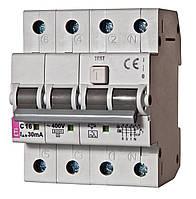 2174022 Дифференциальный автоматический выключатель KZS-4M 3p+N C10/003-AC