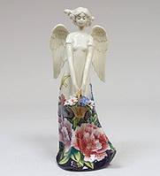 "Фарфоровая статуэтка ""Девушка-Ангел"" (Pavone) JP-247/21"