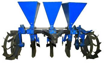 Чеснокосажалка 3-х рядна (ЧС7)   Часникосаджалка для бульб 3 рядна