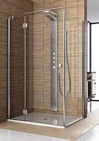 Душевая дверь Aquaform Sol de luxe 80*80 103-06050 со стенкой 103-06058