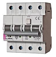 2174026 Дифференциальный автоматический выключатель KZS-4M 3p+N C25/003-AC