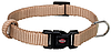20145 Trixie Premium Collar Ошейник бежевый, 22-35 см
