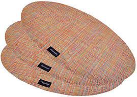 Набір 4 сервірувальних килимка Fissman Cyprian-673 овал 45х30см, пвх