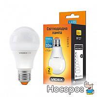 Светодиодная лампа VIDEX E-series A60e 10W E27 3000K 220V (VL-A60e-10273)