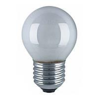 Лампа накаливания PHILIPS P45 25W Е27 FR шар мат.