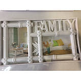 """Фотоколлаж """"Family"""" (37×21×2,5 см) на 2 фотографии  , фото 2"""