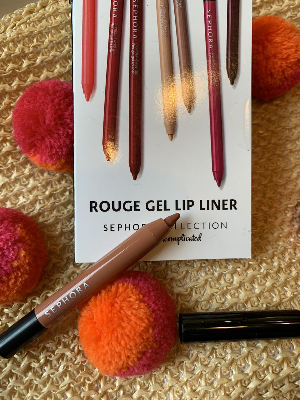 Нюдовый карандаш для губ SEPHORA Rouge Gel Lip Liner