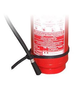 Хомут для крепления шланга огнетушителя ОП-5, ОП-6, ОП-9