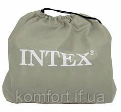 Надувной Матрас Кровать с Подголовником INTEX 66768 (191х137х23), фото 3