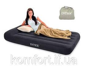 Надувной Матрас Кровать с Подголовником INTEX 66767 (99см-191см-23см), фото 2