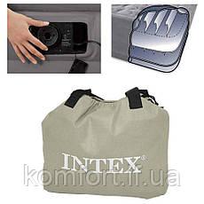 Надувная двуспальная кровать Intex 67770 Comfort (152-203-33 см), встроенный электронасос, фото 2
