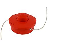 Шпуля Форте, красная. Внешний диаметр 117мм. Левая резьба. Диаметр отверстия под леску 3.5мм