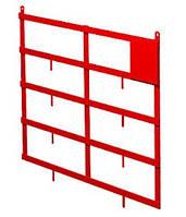 Щит  пожарный металлический  (навесной)  1100*900