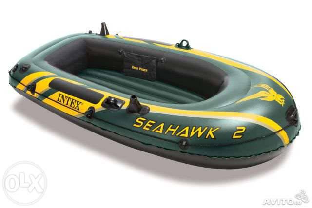 Надувная лодка Intex 68346 Seahawk 2, фото 2