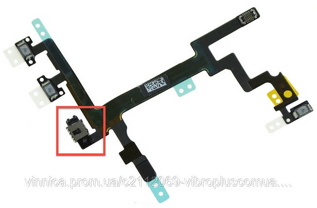 Шлейф Apple iPhone 5 with on/off button (Flat Cable), фото 2