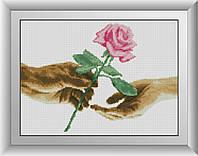 Набор алмазной живописи Для тебя (роза)