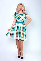"""Элегантное женское платье из набивного штапеля """"Бали"""""""