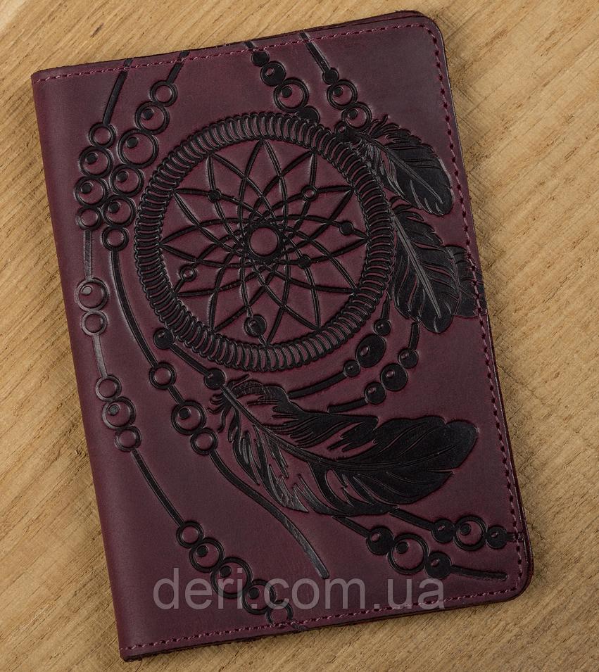 Обложка на паспорт SHVIGEL 13835 Бордовый, Бордовый