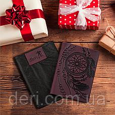 Обложка на паспорт SHVIGEL 13835 Бордовый, Бордовый, фото 2