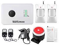 Комплект сигнализации GSM Alarm System G10C modern plus для 1-комнатной квартиры Белый (GGFBD678CHYVIDO)