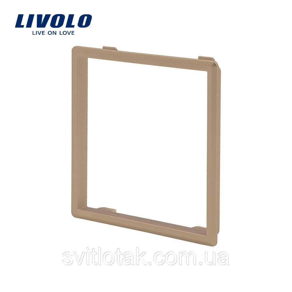 Ободок розетки Livolo золото (VL-DF101-13)