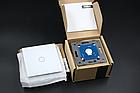 Сенсорный выключатель Livolo цвет белый лицевая панель из стекла (VL-C701-11), фото 5