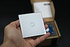 Сенсорный выключатель Livolo цвет белый лицевая панель из стекла (VL-C701-11), фото 9