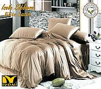 """Комплект 1-спальний Колекції """"Elite Satin Isola Sabbiosa"""". Сатин (Туреччина). Бавовна 100%."""