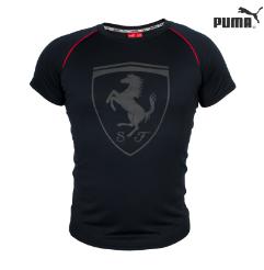 Мужская футболка. Реплика PUMA FERRARI. Мужская одежда