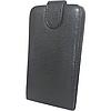 Чехол книжка Samsung Galaxy Fit S5670 Змеиный принт Черный