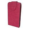 Чехол книжка Samsung Galaxy Fit S5670 Без узоров и принтов Розовый
