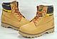 Мужские Ботинки зимние Caterpillar Second Shift Boots Yellow (катерпиллер) рыжие, фото 7