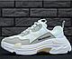 Женские кроссовки Balenciaga Triple S White, фото 9