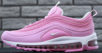 Кроссовки женские Nike Air Max 97 Pink, найк аир макс 97 розовые 37