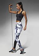 Женские спортивные леггинсы Bas Bleu Calypso S Черно-белый (bb0025)