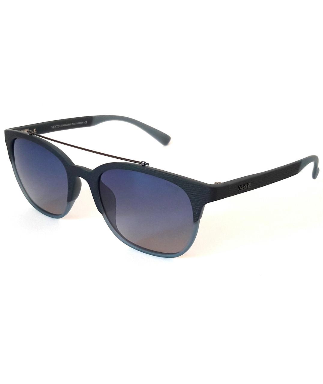 Сонцезахисні окуляри з поляризацією, темно-сині, унісекс, Vento