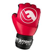 Перчатки для боев Free-Fight красные (6, 7 унций)