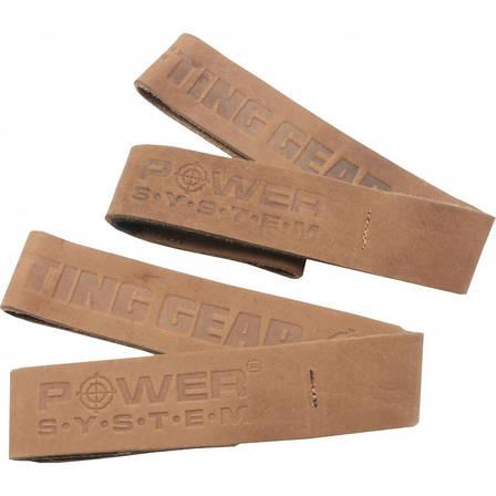 Кожаные лямки Power System Leather Straps Коричневые (PS_3320), фото 2