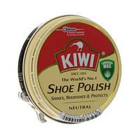 Безбарвний Крем в жерстяній банці новий дизайн Kiwi 50мл