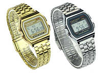 Мужские (Женские) кварцевые наручные часы Casio Old School A159W, фото 1