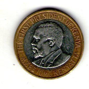 Кения 10 шиллингов 2010 №9